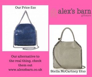 Our alternative to the real thing, checkthem outwww.alexsbarn.co.uk
