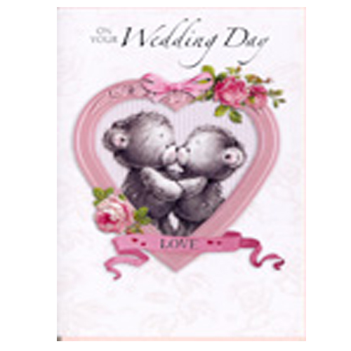'On Your Wedding Day' Card by Simon Elvin