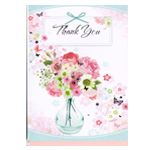 'Thank You' Card by Simon Elvin