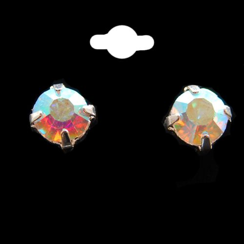 AB Crystal Stud Earrings