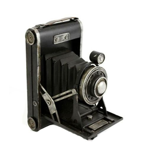 Antique Style Slide Tin Camera