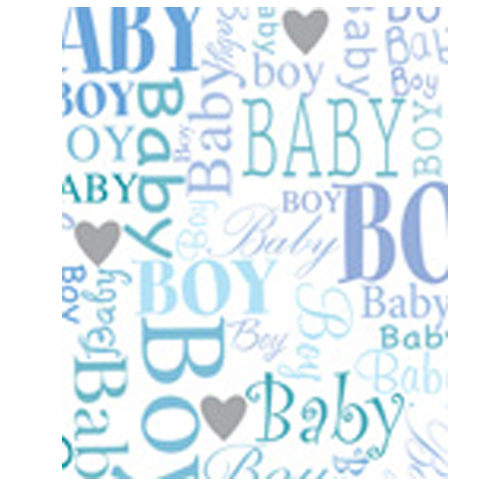 Baby Boy Gift Paper Sheet by Simon Elvin