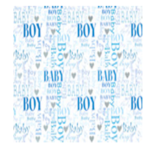 Baby Boy Gift Tag by Simon Elvin