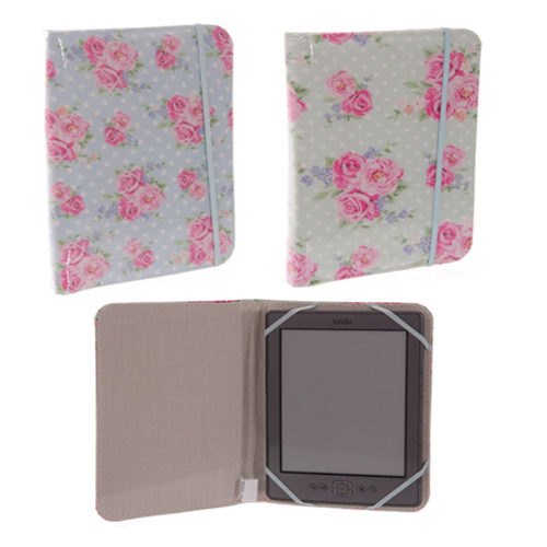 Chintz E-Reader Cover Floral Design