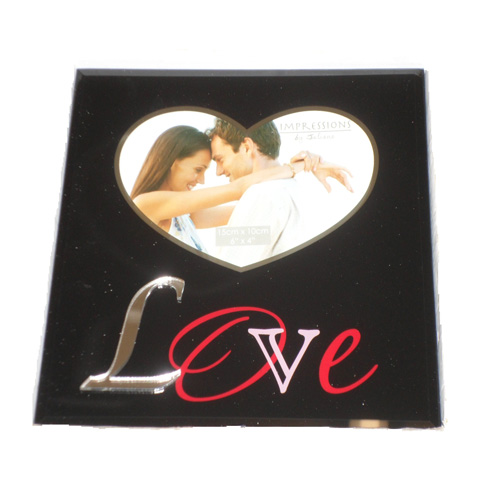 Gift Photo Frame 'Love' Impressions by Juliana