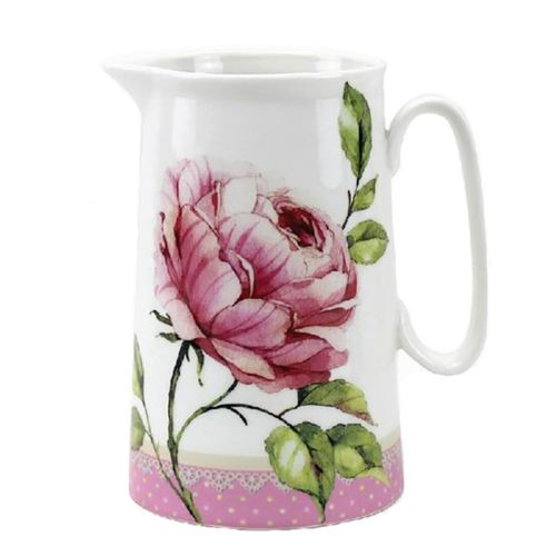 Heart Rose Medium Size Jug from The Leonardo Collection