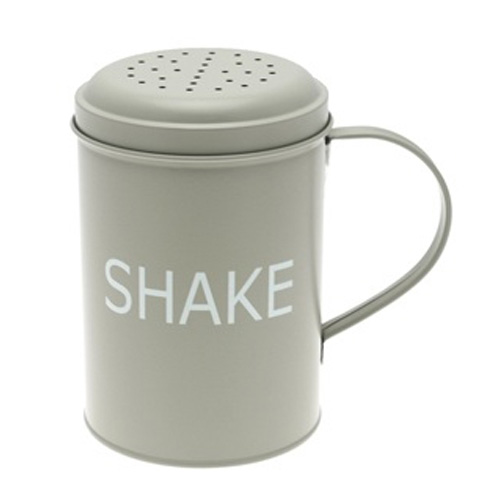 Home Sweet Home Sage Shaker from the tinware range by Leonardo