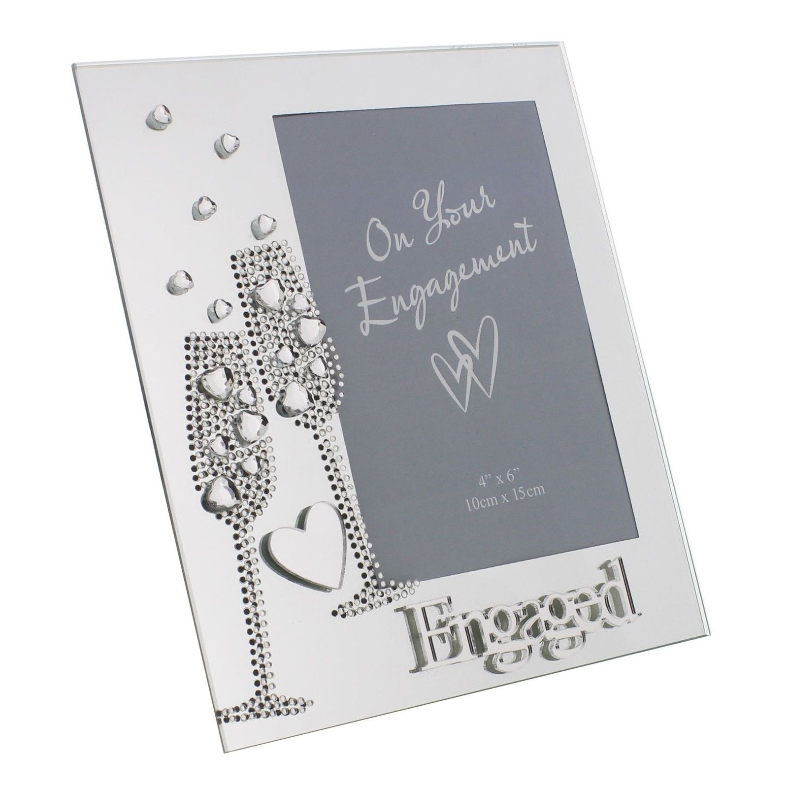 Impressions by Juliana Mirrored Engagement Frame