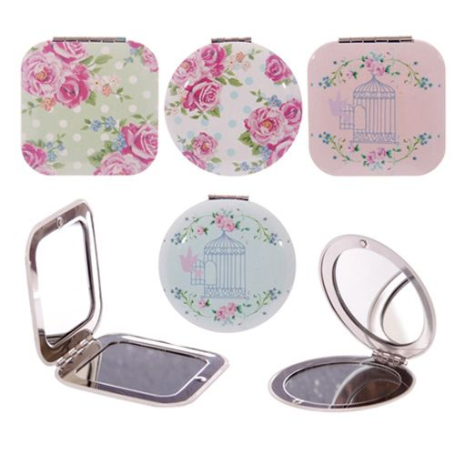 Laura Bell Chintz Compact Mirror