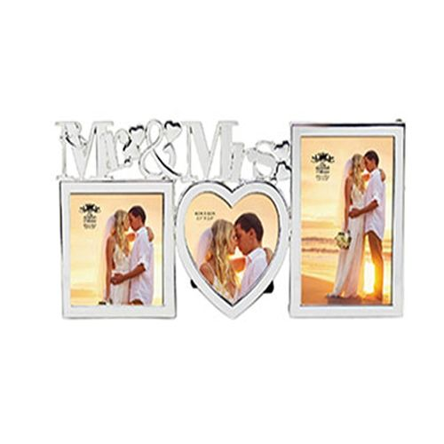 Mr & Mrs Photo Frame from The Leonardo Collection