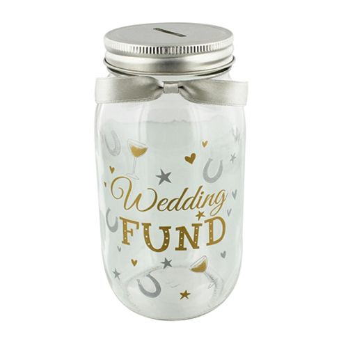 Pennies & Dreams Wedding Fund Jar