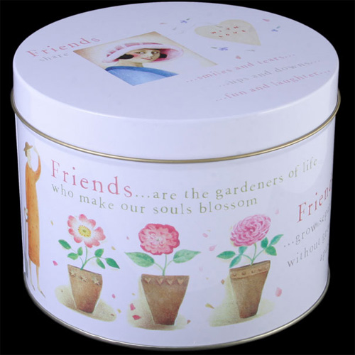 Sentimental Friends Storage Tin