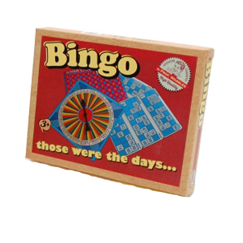 Those were the days...Retro Bingo Game