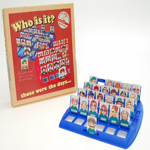 Thoses Were The Days....Retro Who Is It? Board Game