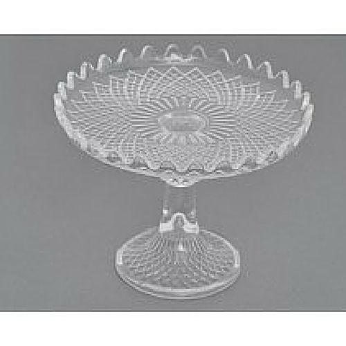 Vintage Design Glass Cake Stand
