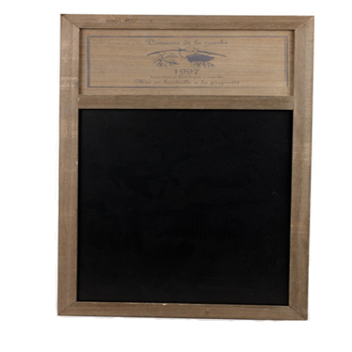 Wine Design Wooden Frame Blackboard