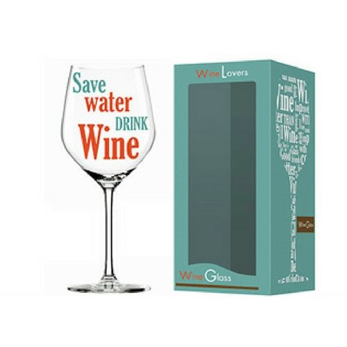 Wine Lover Water Wine Glass