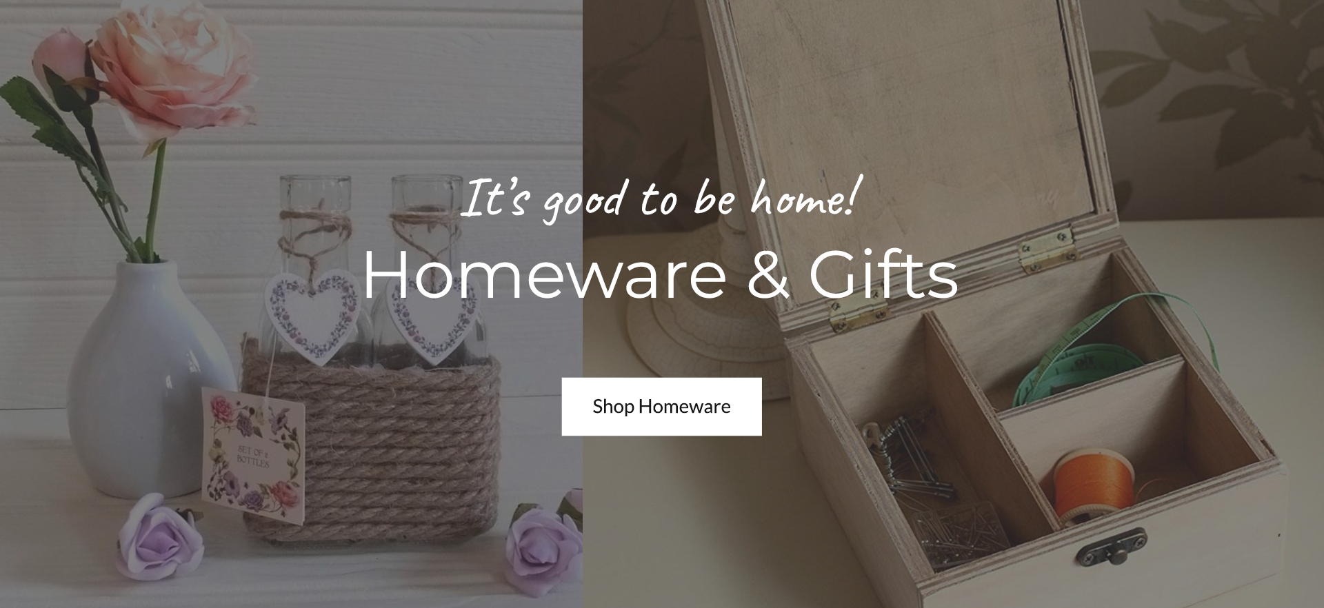 Shop Homeware & Gifts